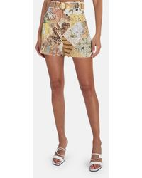 Zimmermann Brightside Piped Shorts - Multicolor