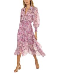 MISA Los Angles Kaiya Dress - Purple