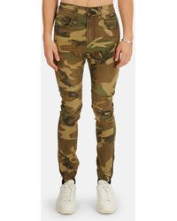 R13 Cooper Tapered Drop Trousers - Multicolour