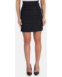 3.1 Phillip Lim Elastic Waistband Side Pocket Skirt - Black