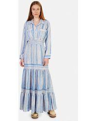 MISA Los Angles Jasmine Dress - Blue