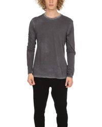 Cotton Citizen - Classic Crewneck Vint Grey - Lyst