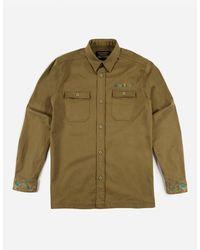 Maharishi Liberty Dragon Mil Shirt - Green