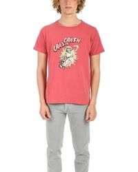 Remi Relief Sp Finish Skull Crash Graphic T-shirt - Red