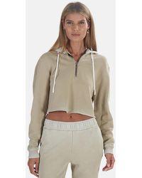 Cotton Citizen Brooklyn Crop Zip Sweater - Multicolor