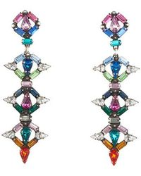 DANNIJO Kosma Earrings - Blue
