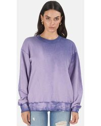Cotton Citizen Brooklyn Crewneck Sweater - Purple