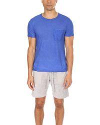 Massimo Alba Panarea T-shirt - Blue