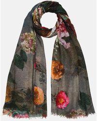 Faliero Sarti Flowers Scarf - Multicolour