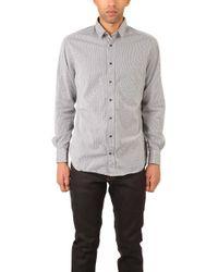 Blue & Cream - Bengal Stripe Shirt - Lyst