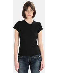 RE/DONE Slim-fit T-shirt - Black