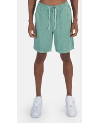 President's Linen Bermuda Short - Green