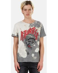 R13 - Battle Punk Boy Graphic T-shirt - Lyst