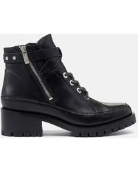 3.1 Phillip Lim 'hayett' Leather Ankle Boots - Black