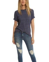 V :: Room Highsoft Jersey Crewneck T-shirt - Blue