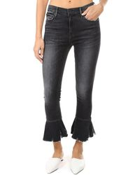 Mother The Cha Cha Chew Jeans - Black