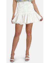 Zimmermann Super Eight Safari Skirt - White