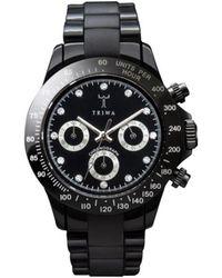 Triwa Beluga Chrono Watch - Black