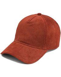 Rag & Bone Marilyn Baseball Cap - Red