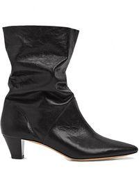 IRO Drapity Boot Shoes - Black