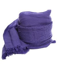 Yigal Azrouël Candy Scarf - Purple