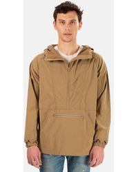 Remi Relief Nylon Anorak Jacket - Natural