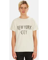 Remi Relief Sp Finish Nyc Graphic T-shirt - White