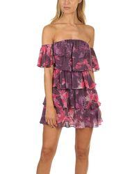 MISA Los Angles Lucila Dress - Purple