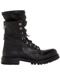 RTA - Hybrid Combat Boots - Lyst