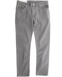 BLK DNM Slim Straight Hudson Jean - Gray