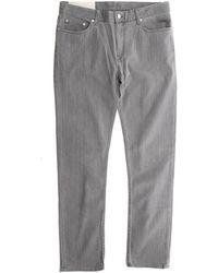 BLK DNM Slim Straight Hudson Jeans - Gray