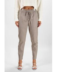 3.1 Phillip Lim Side Stripe Track Trousers - Grey