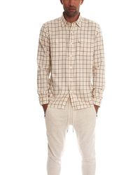Timo Weiland Walter Workman Button Down Shirt - Natural