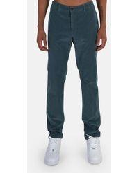 Massimo Alba Winch Trousers - Green