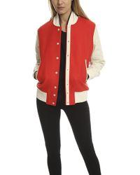 Rag & Bone - Edith Varsity Jacket - Lyst