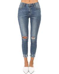 One Teaspoon Freebirds Ii Skinny Jeans - Blue
