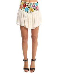 Jen's Pirate Booty Bonita Asteria Mini Skirt - Natural