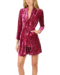A.L.C. Kiera Dress Hot Pink