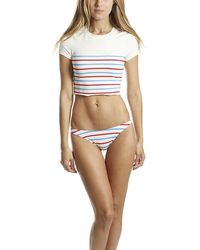 Solid & Striped The Meghan Top Swimwear - Multicolour