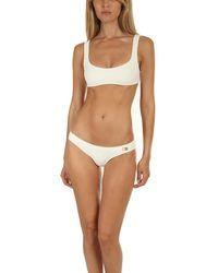 Solid & Striped The Elle Top Swimwear - White