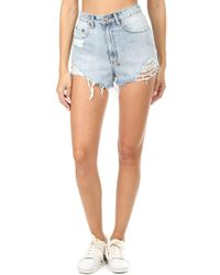Ksubi - Clas-sick Cut Off Short - Lyst