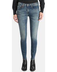 R13 Alison Skinny Jeans - Blue