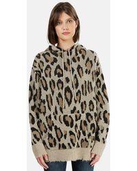 R13 Cashmere Hoodie Sweater - Multicolour