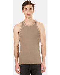 V :: Room Knit Tank Top - Gray