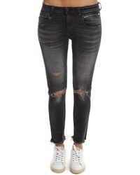 R13 Biker Boy Jeans - Black
