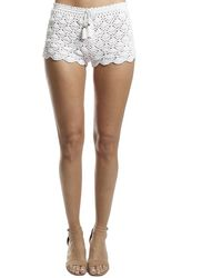 Poupette Rania Boxer Short - White