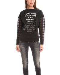 Each x Other Embroidered Jumper - Black