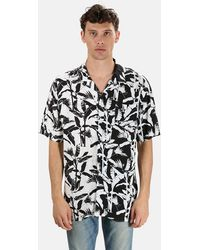 Zanerobe Diced Short Sleeve Shirt - Black