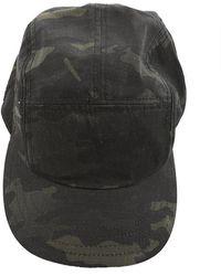 Rag & Bone - 5 Panel Camo Hat - Lyst