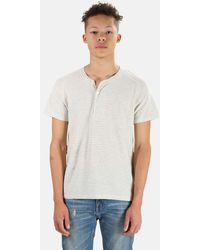 V :: Room Henleys Henley T-shirt - Natural